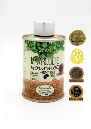 Gourmet Basil extra virgin olive oil 100ml