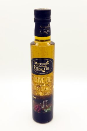 Olive oil and balsamic vinegar 250ml.