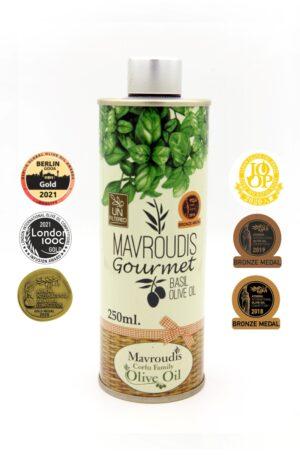Gourmet Basil extra virgin olive oil 250ml