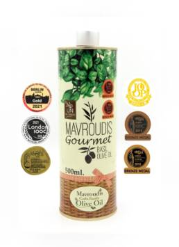 Gourmet Basil extra virgin olive oil 500ml