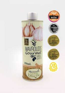 Gourmet Garlic extra virgin olive oil 250ml