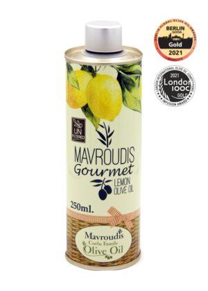 Gourmet Lemon extra virgin olive oil 250ml