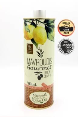 Gourmet Lemon extra virgin olive oil 500ml