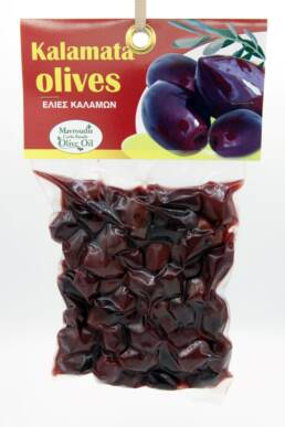 Big black olives