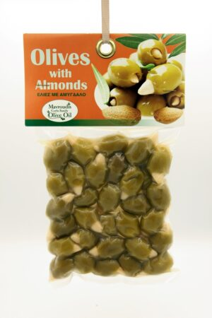 Olives stuffed with almonds