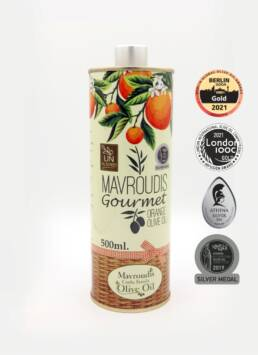 Gourmet Orange extra virgin olive oil 500ml
