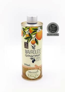 Gourmet Orange extra virgin olive oil 250ml