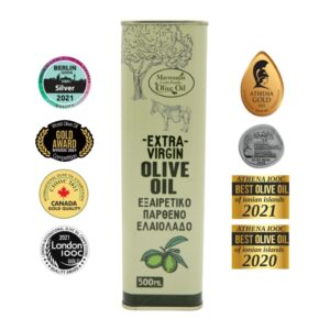 Mavroudis Monovarietal Lianelia Extra virgin olive oil 500ml