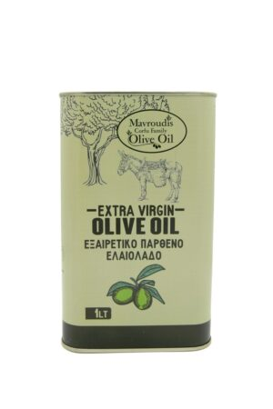 Extra virgin olive oil 1L Square