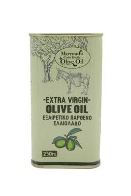 Extra virgin olive oil 250ml Square