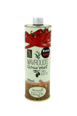 Gourmet Extra Spicy Chilli extra virgin olive oil 500ml